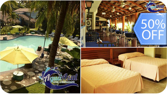 hotel agua azul guatemala: