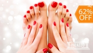 [Imagen:¡Paga $10 en Lugar de $26 por Manicure Spa + Pedicure Spa + Esmaltado Normal en Manos y Pies!]
